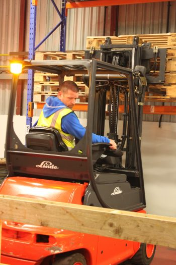 Counterbalance Forklift Truck - Beginner B1 up to 5 ton